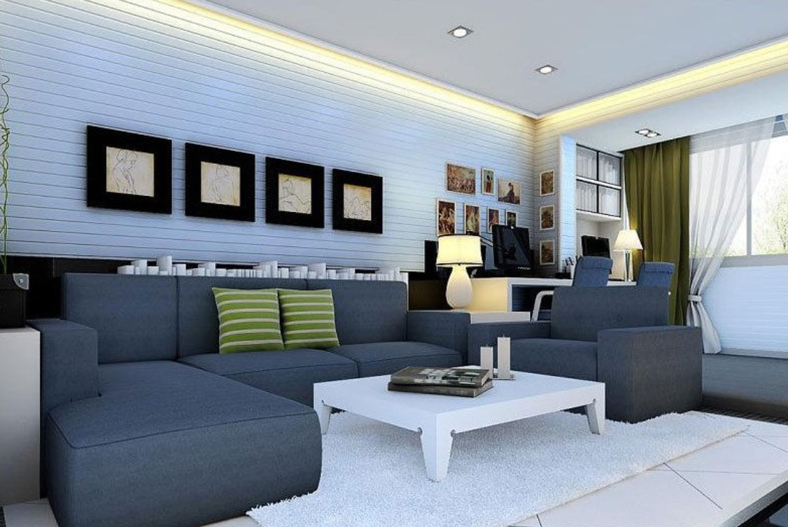 Carpet cleaning cleaner brighton grant cleaning sussex - Blue walls living room ...
